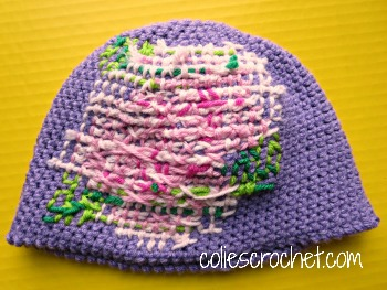 Crochet Stitches Rose : ... how to cross-stitch on crochet - Colies Crochet - coliescrochet.com