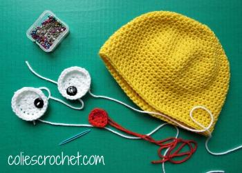 Spring-Peeper-Beanie-Appliques-Colie's-Crochetdotcom-Blog