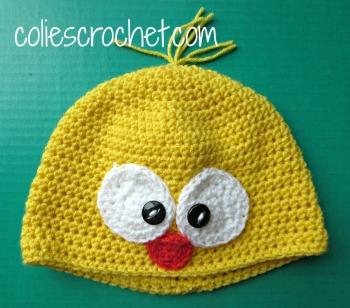Spring-Peeper-Beanie-Yellow-Colie's-Crochetdotcom-Blog