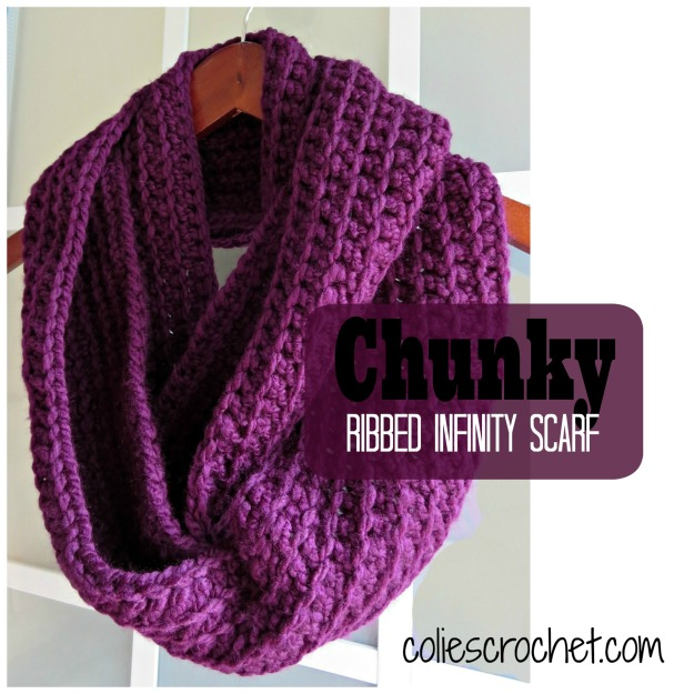 Chunky-Ribbed-Infinity-Scarf-Colie's-Crochet